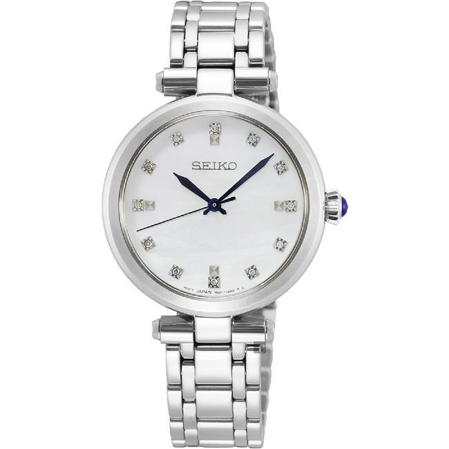Seiko CS系列 7N01-0KT0S(SRZ529P1) 時尚氣質優雅女腕錶/白面 30mm