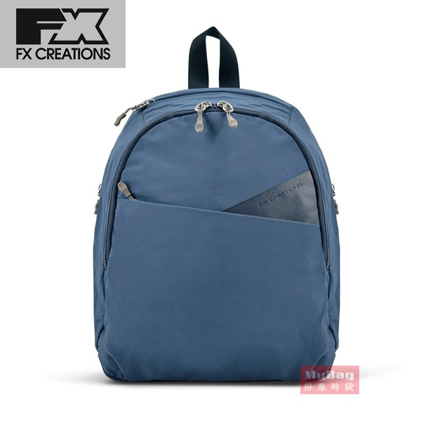 FX CREATIONS 後背包 TNF 回彈減壓 後背包(小) 藍色 TNF69960A 得意時袋
