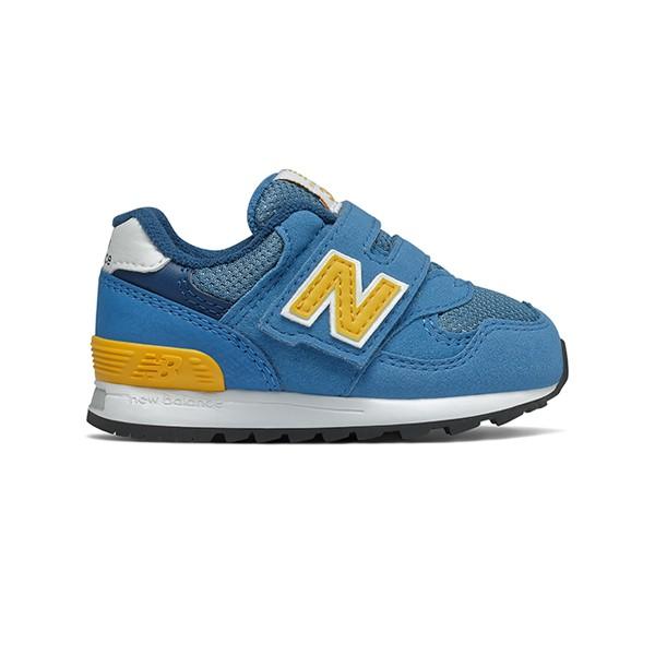 【NEW BALANCE】NB 313 童鞋 運動鞋 黃藍 小童 -IO313BYW