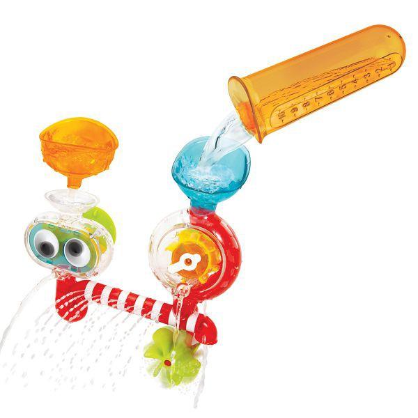以色列 Yookidoo 大眼瀑布透視組/洗澡玩具【麗兒采家】