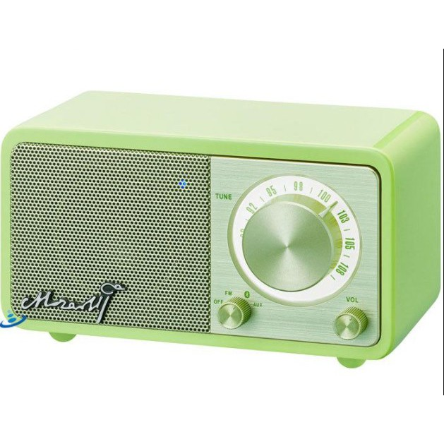【SANGEAN】Mozart 調頻/藍牙喇叭 (Mozart/FM/Bluetooth) 粉綠色
