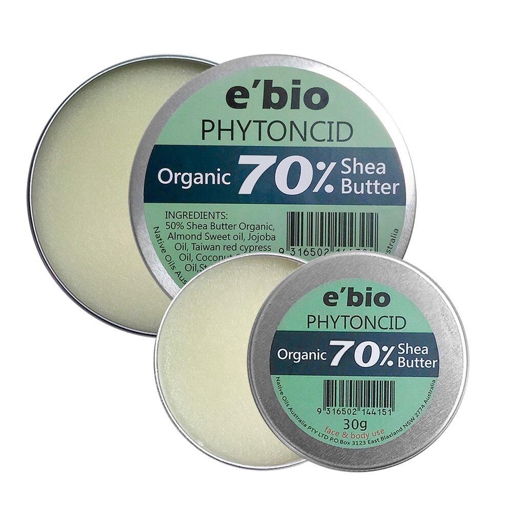e'bio 伊比歐 有機乳油木果油-森林精油配方 (100g+30g)
