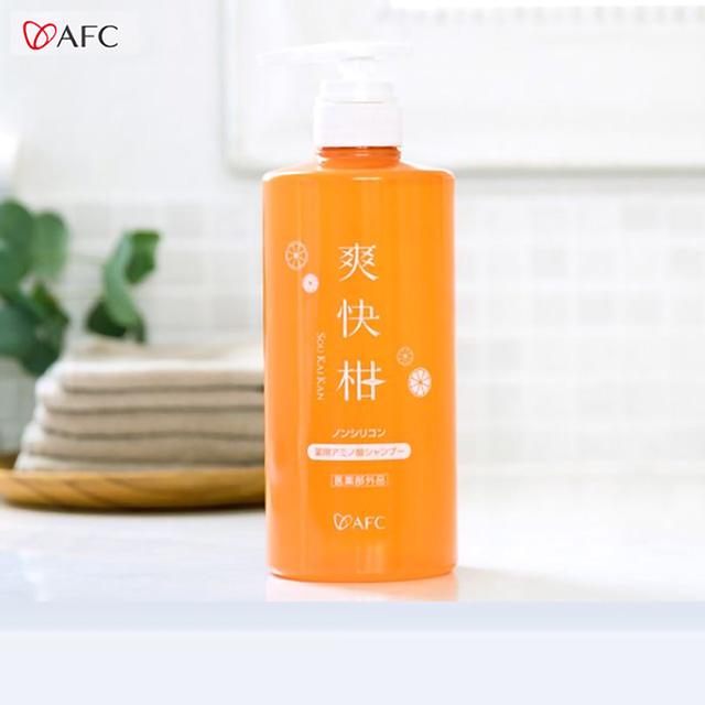【AFC爽快柑】日本原裝胺基酸洗髮精(500ml)