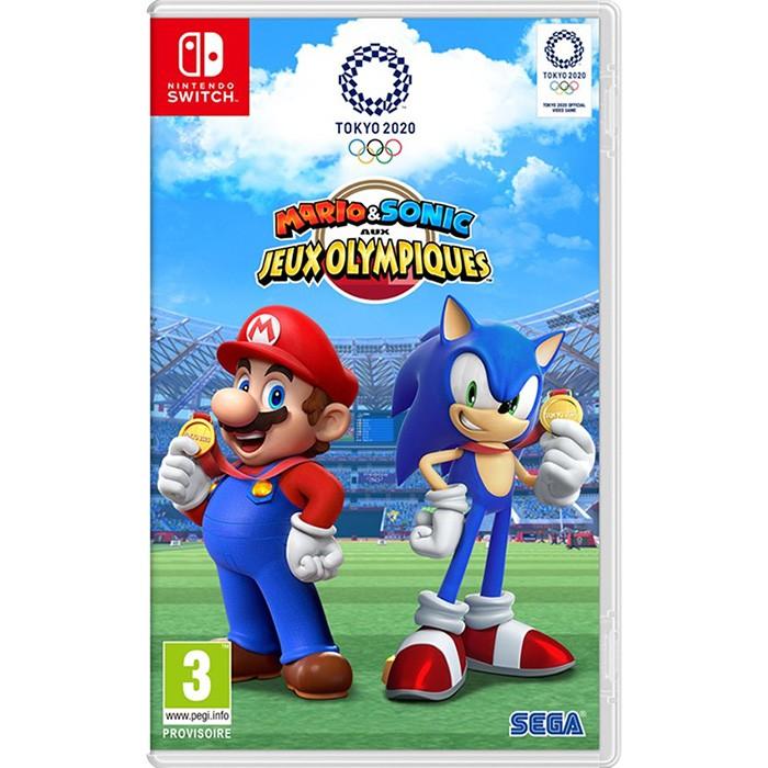 【Nintendo Switch】瑪利歐 & 索尼克 AT 2020 東京奧運《中文版》