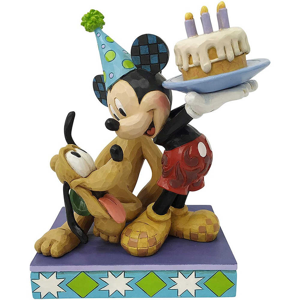 Enesco Disney 迪士尼 布魯托90歲生日雕像