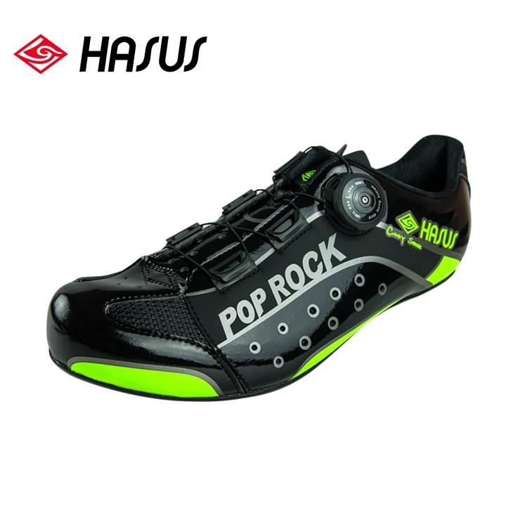 Hasus 卡式公路自行車鞋HMS16-BLK POP ROCK系列/黑色