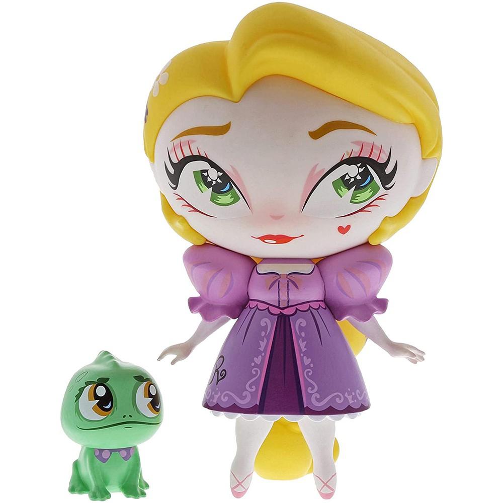 Enesco Disney 迪士尼公主 Q版樂佩與小帕斯卡塑像