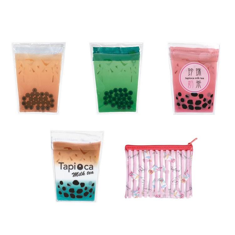 轉蛋珍珠奶茶造型收納包