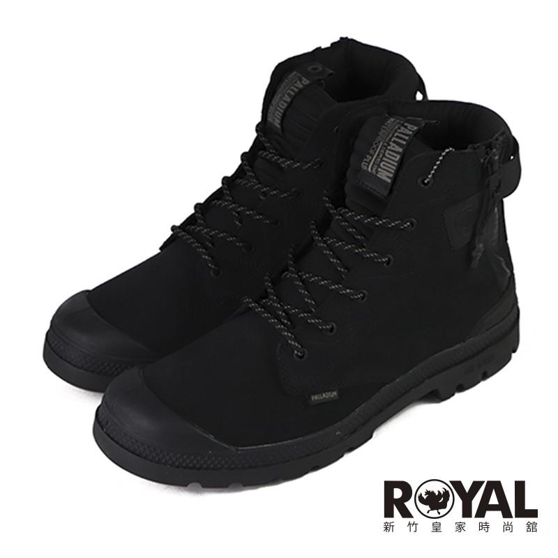 Palladium Pampa Lite 黑色 麂皮 防水 側拉鍊 軍靴 男款 NO.B1742【新竹皇家】