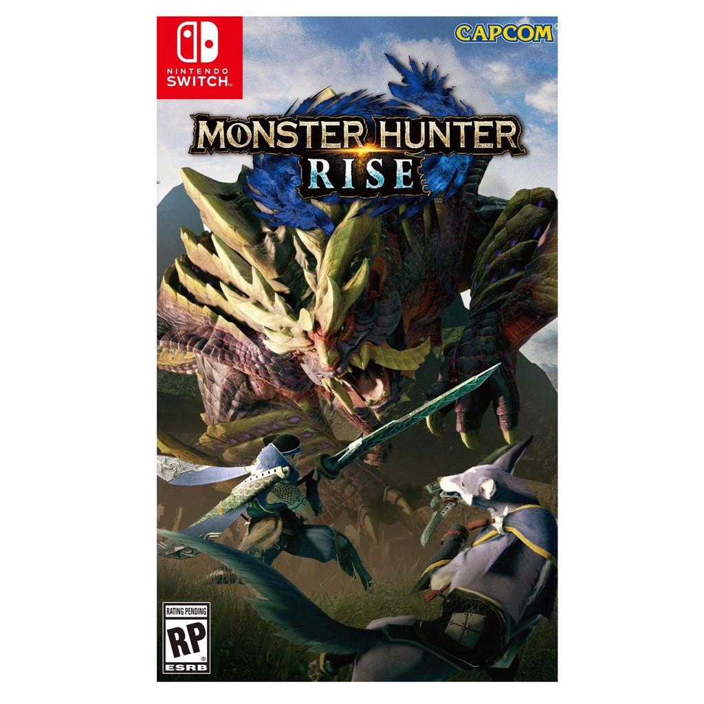 Nintendo Switch 魔物獵人 崛起 MHR 中文版全新品 附三大特典DLC 預購3/26上市【台中星光電玩】