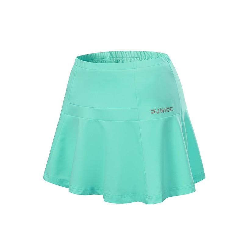 【JNICE久奈司】搖擺運動短裙-蒂芬妮 假兩件褲裙 女生運動 啦啦隊百摺裙 排舞 網球裙