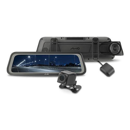 MIO R76T【附32G】前後雙錄電子/後視鏡/行車記錄器/GPS測速/雙STARVIS【數位王】