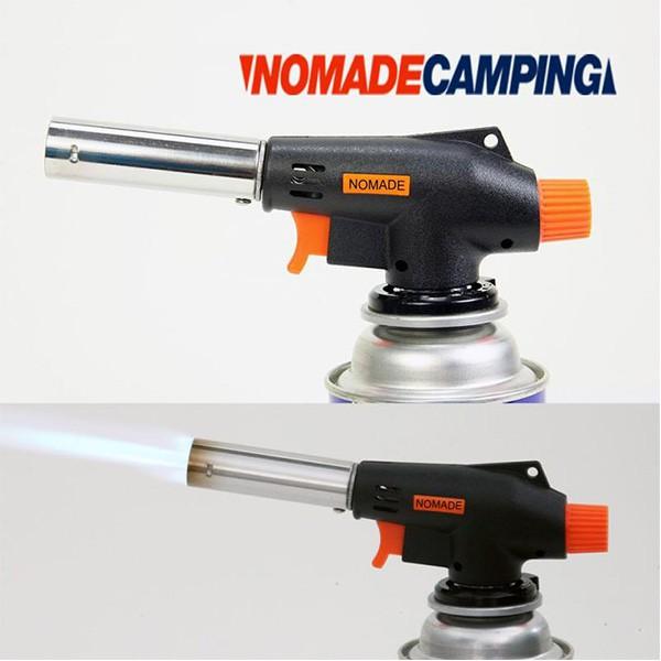 NOMADE N6812 電子點火瓦斯噴火槍 升火 露營 野炊《台南悠活運動家》