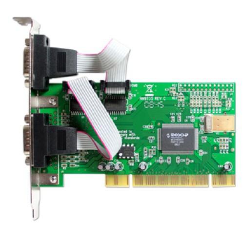伽利略 PCI 2 Port RS232 擴充卡 PTR02B