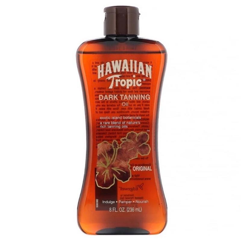 HAWAIIAN TROPIC 熱帶夏威夷 Dark Tanning Oil 戶外助曬油 SPF0《寶貝曬嘿》