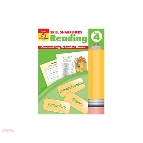 Skill Sharpeners Reading, Grade 4(2片CD)【三民網路書店】(有聲書)[75折]