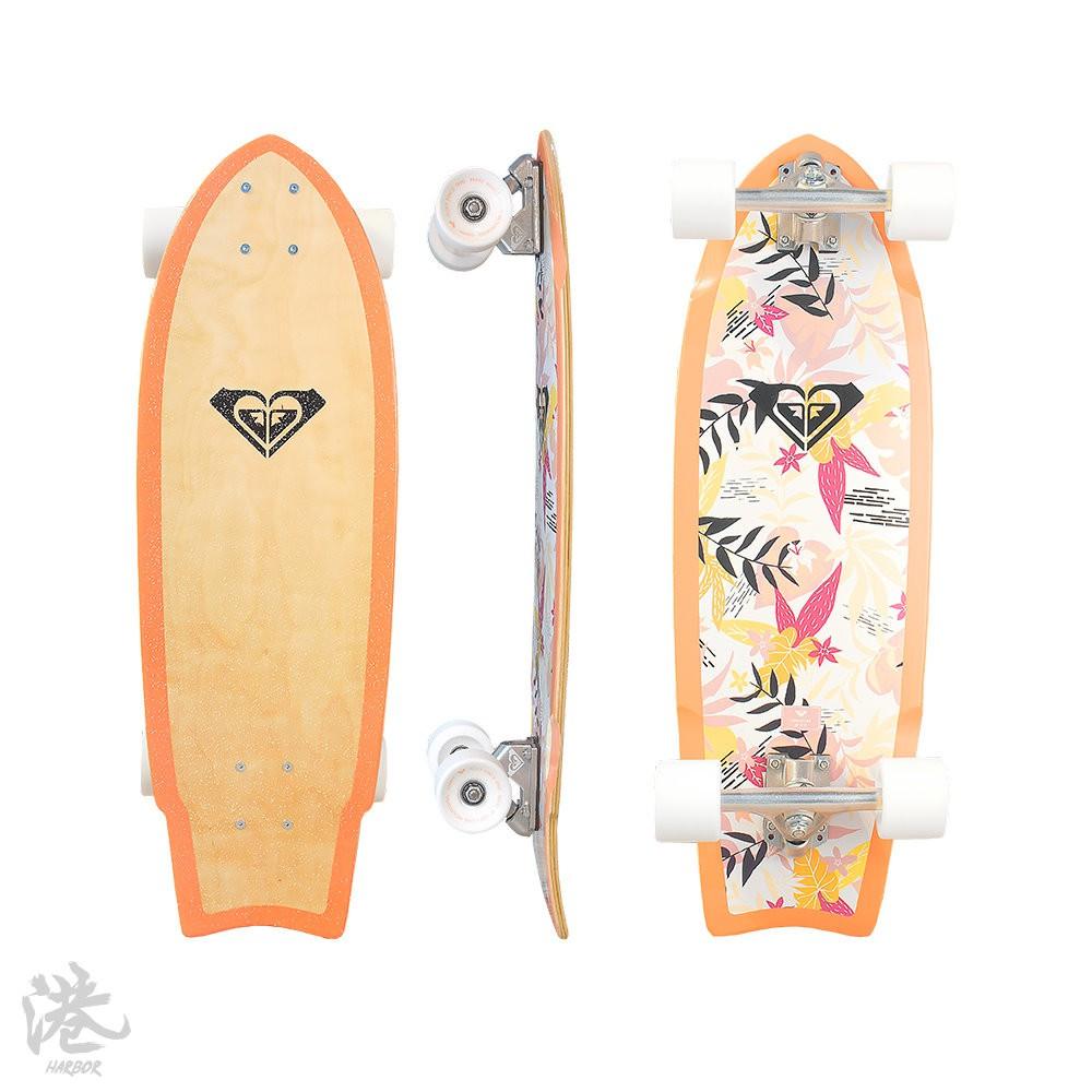 Roxy SK8 N'tara 28吋 滑板 交通板 整組 【Harbor港】