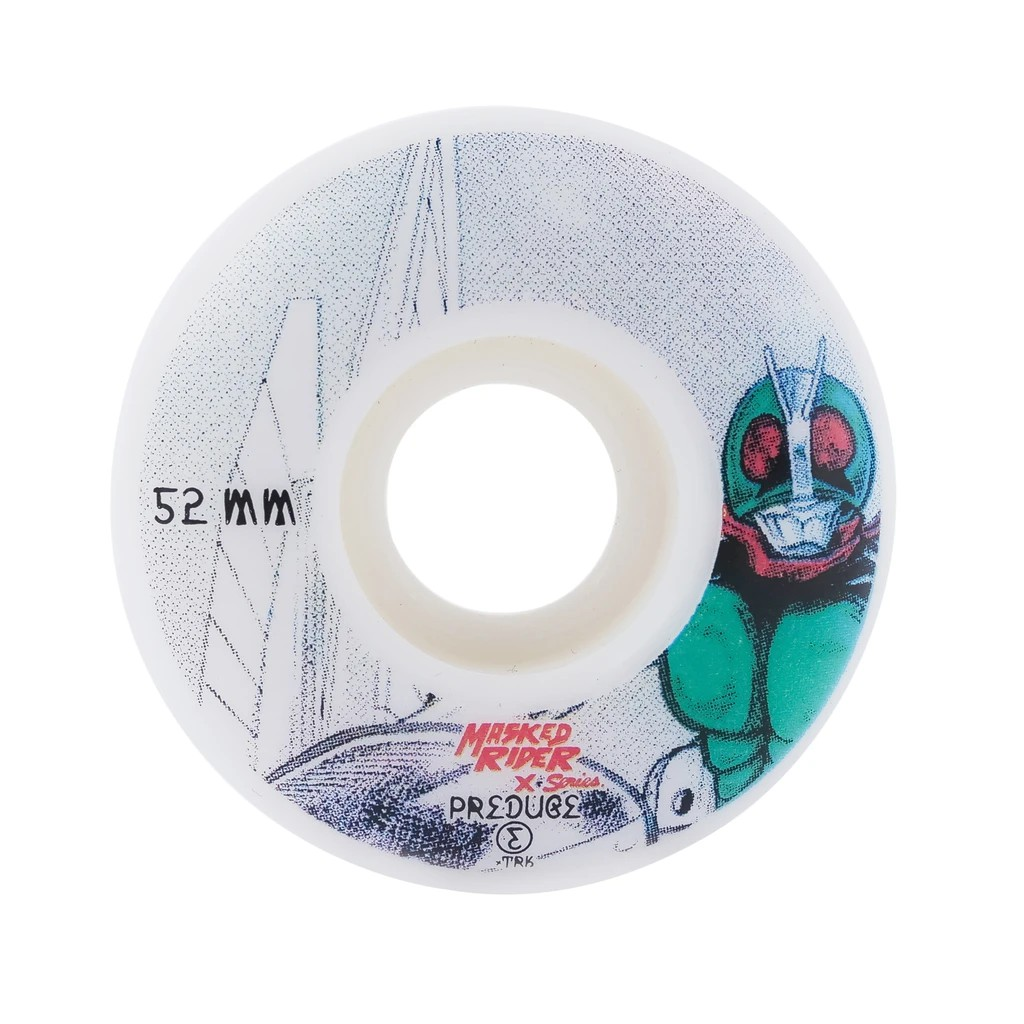 Preduce x Masked Rider Democracy Monument 52mm 輪子/滑板 (硬輪)