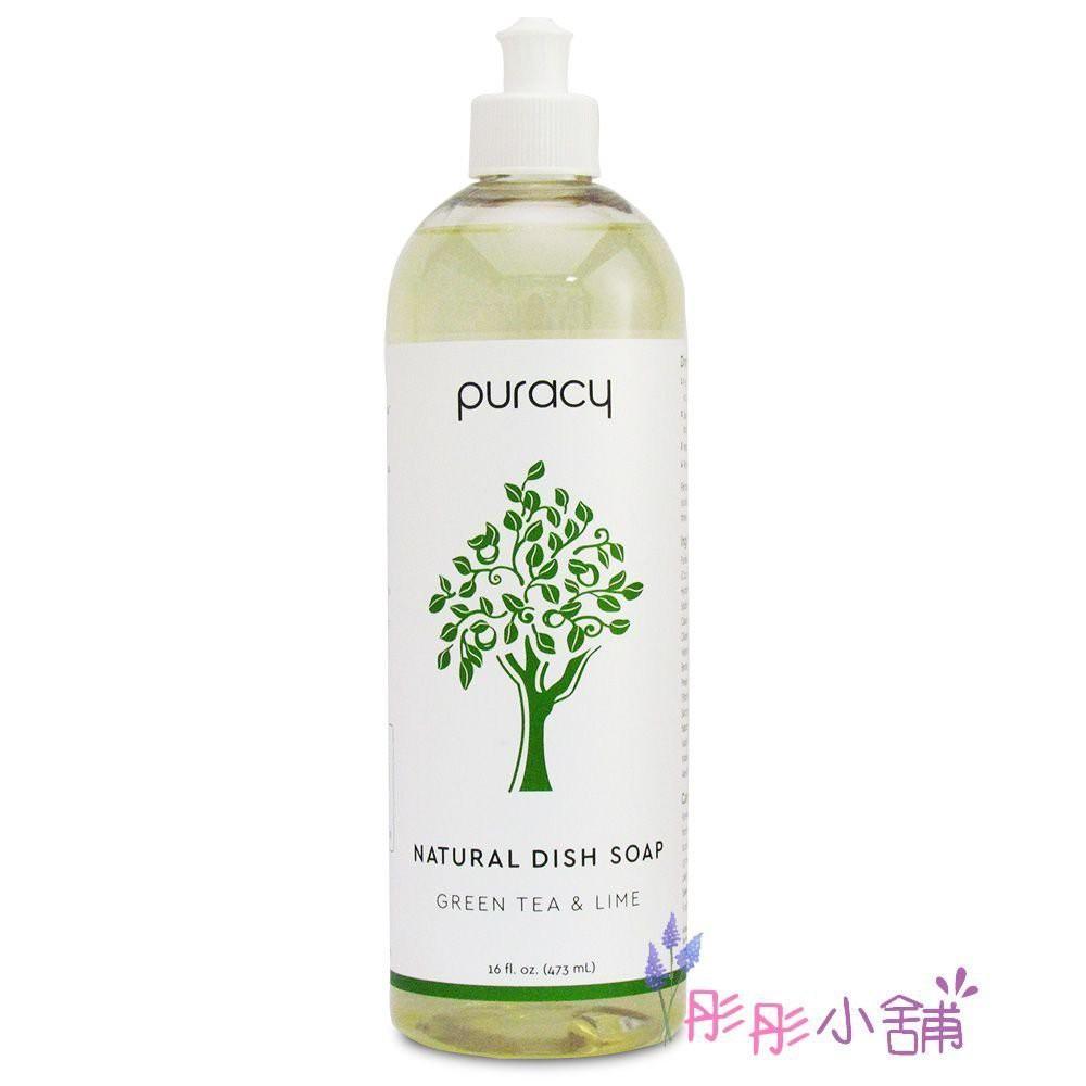 Puracy Natural 草本洗碗精 16oz / 473ml 濃縮配方 綠茶萊姆 彤彤小舖