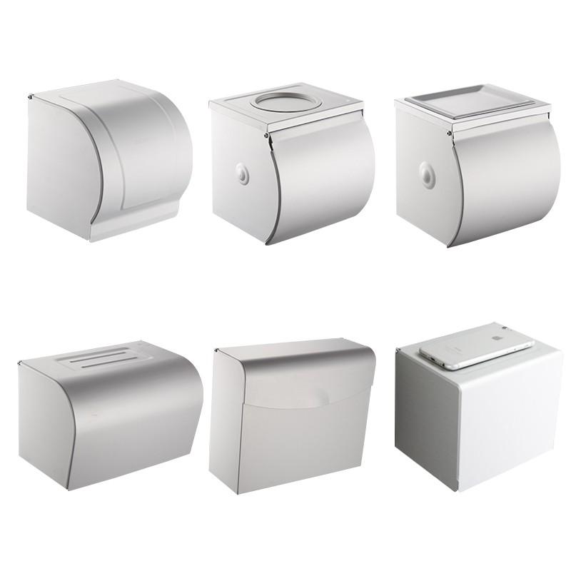 紙巾盒 衛生間紙巾盒壁掛式廁所放卷紙廁紙手紙家用防水浴室置物架免打孔