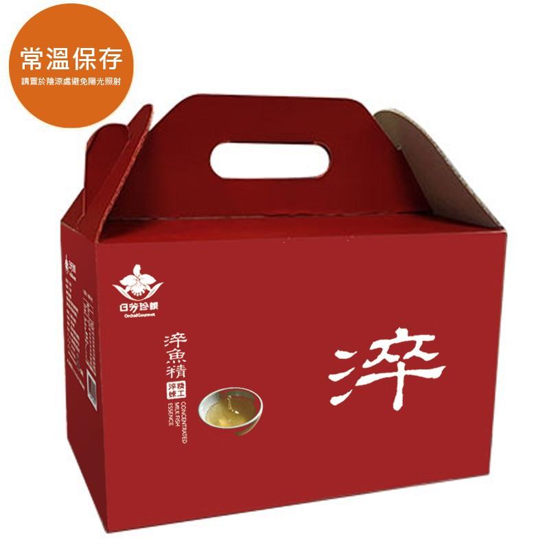 【日芳珍饌】淬魚精(常溫60入)-超越滴雞精 雙淬技術營養更好喝
