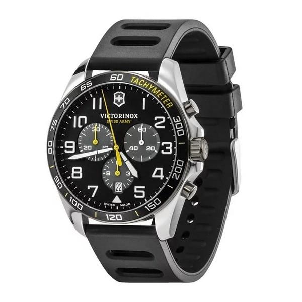 VICTORINOX SWISS ARMY 瑞士維氏 三眼計時錶 VISA-241892