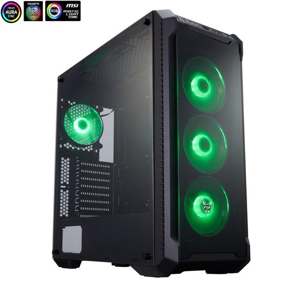 FSP 全漢 光戰警 CMT520 E-ATX 電腦機殼 (玻璃透側)