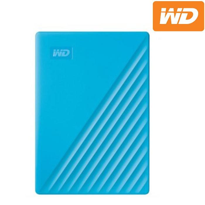WD 威騰 My Passport 5TB(藍) 2.5吋行動硬碟(2019)
