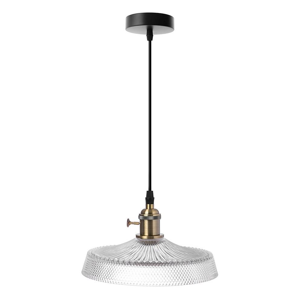 特力屋波爾多玻璃單燈吊燈