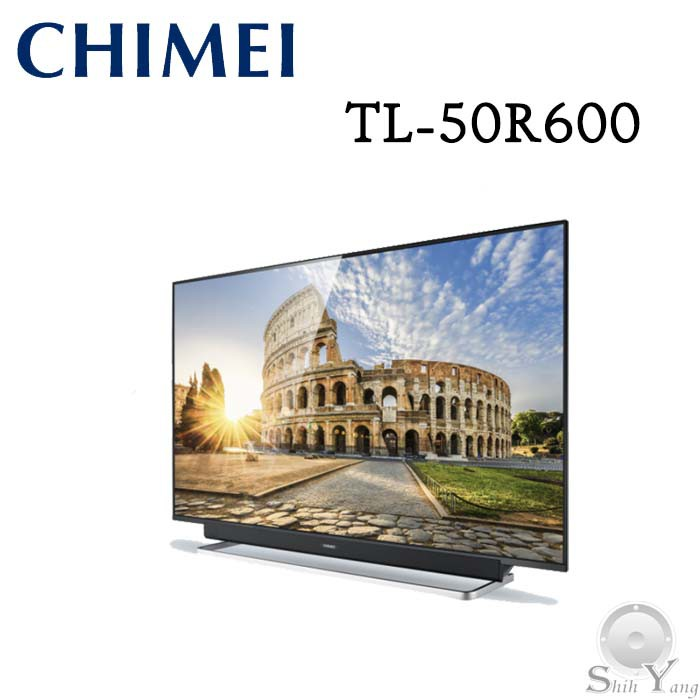 CHIMEI 奇美 TL-50R600 液晶電視 50吋 4K 安卓系統 線上影音串流NETFLIX 語音搜尋 保固三年
