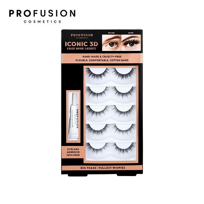 PROFUSION 3D假睫毛5對入-輕盈電眼