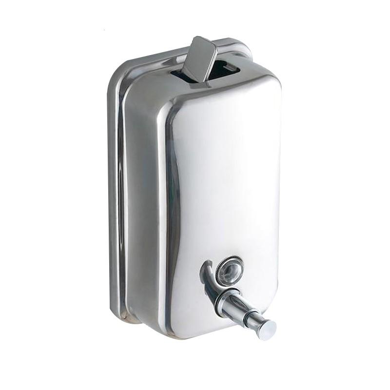 皂液器 304不銹鋼免打孔衛生間壁掛按壓沐浴盒洗手液瓶子酒店浴室皂液器