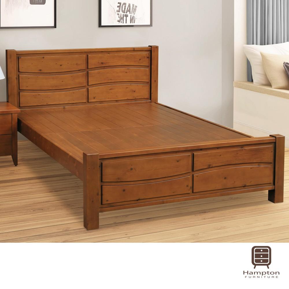 【Hampton 漢汀堡】格吉爾6尺雙人床架(雙人床/床頭/床底)