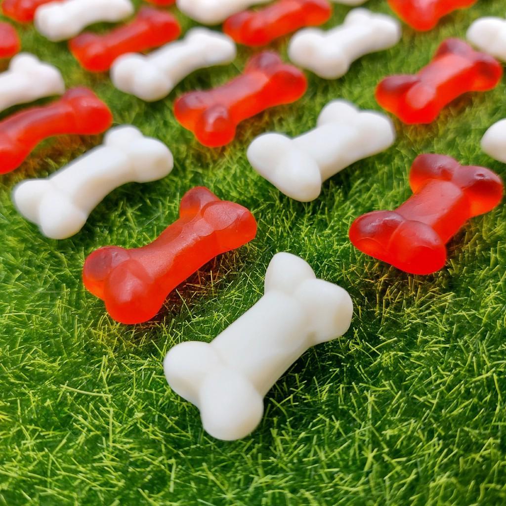【嘴甜甜】骨頭軟糖 200公克 優格 櫻桃 狗骨頭 軟糖系列 水果口味