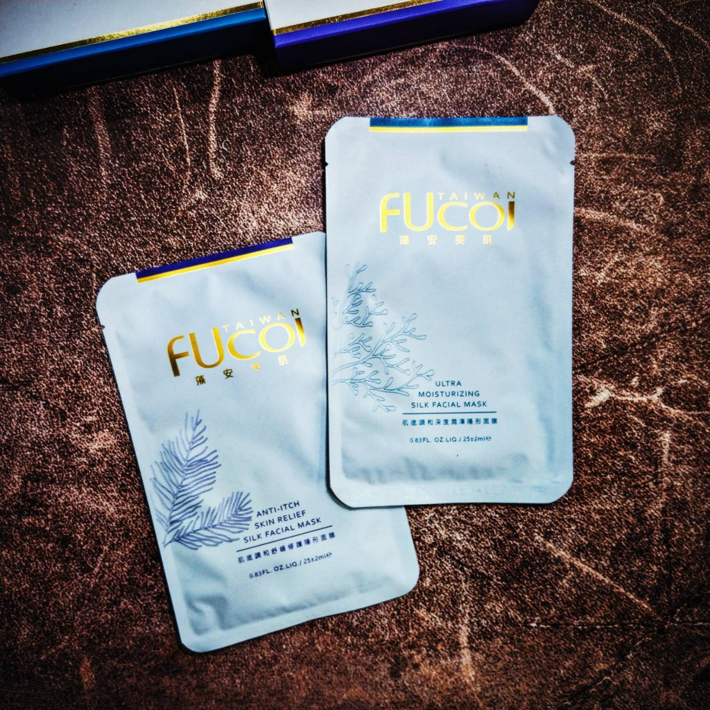 【FUcoi藻安美 肌】輕透極潤修護組 / 款式任意組合15片