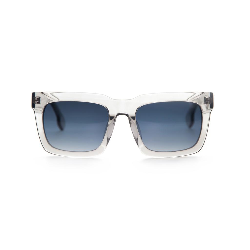 〔框框〕經典粗方框 Simply Bold 2.0 -限量透灰墨鏡∣UV400太陽眼鏡