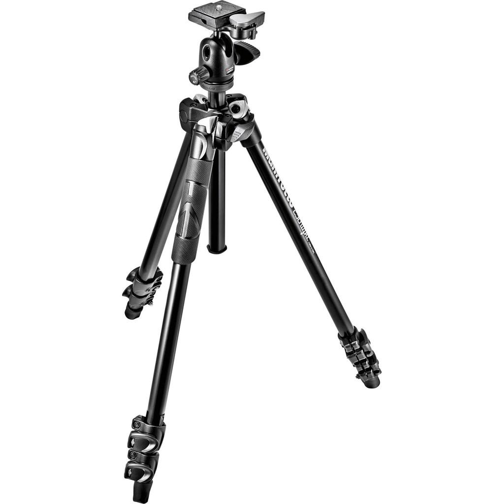 Manfrotto MK290LTA3-BH [優惠促銷] 送拭鏡紙 輕巧三節腳架 球型雲台套組 相機專家 正成公司貨