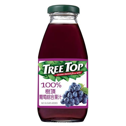 樹頂100%葡萄綜合果汁 300ml【愛買】