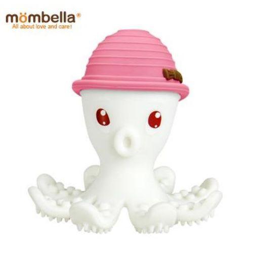 【衛立兒生活館】Mombella 樂咬咬章魚固齒器(粉紅色)