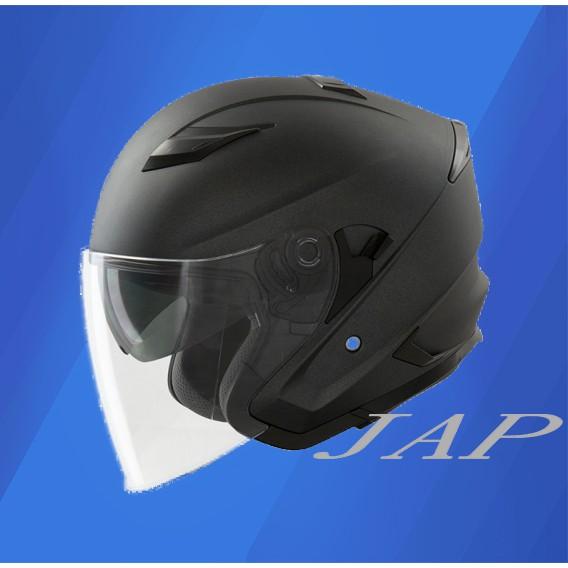 THH T560S 素色 平光鐵灰 雙鏡片 雙D扣 內襯全可拆洗 半罩安全帽