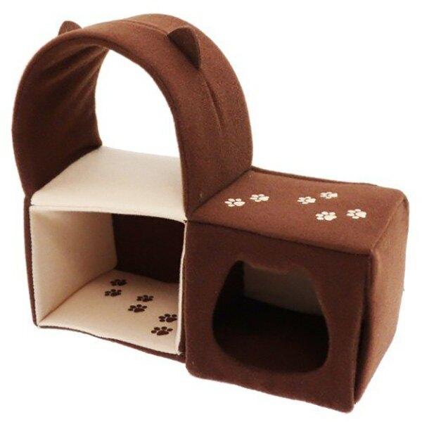 【沙包貓 貓跳台】沙包貓 貓沙包 擺飾 貓跳台 棉質 日本正版 該該貝比日本精品