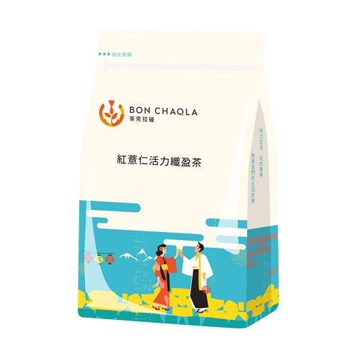 台灣茶人 紅薏仁活力纖盈茶3角立體茶包(18包入)【小三美日】D483915