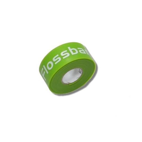 【南紡購物中心】【Sanctband】Flossband 加壓帶綠色細版 (1英吋輕型)