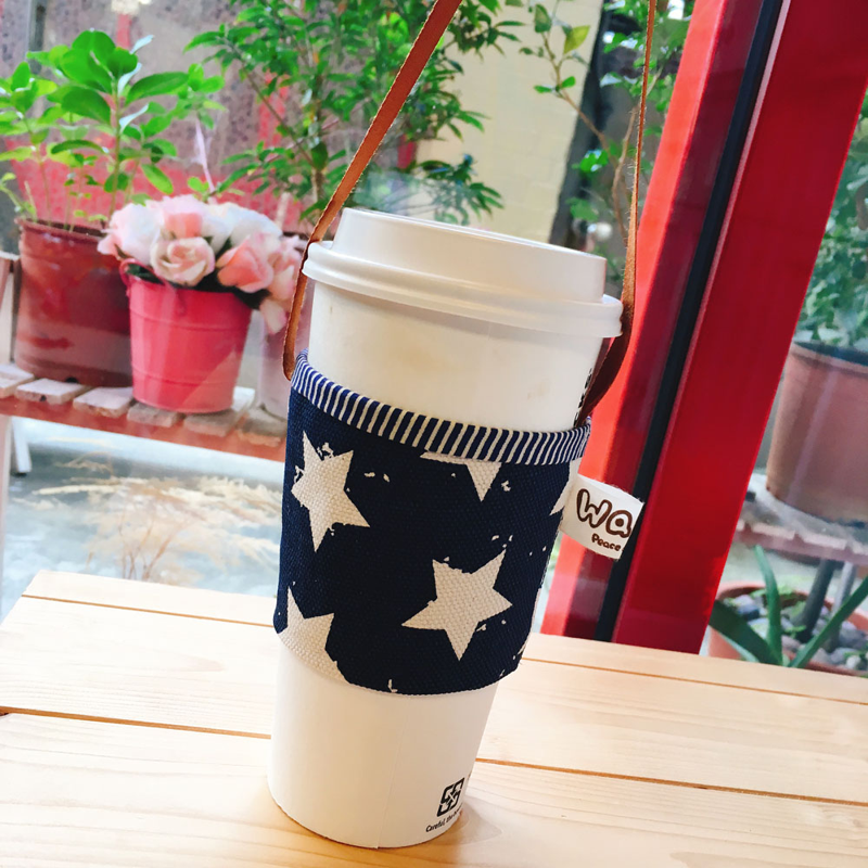 【WaWu】環保杯套/星星