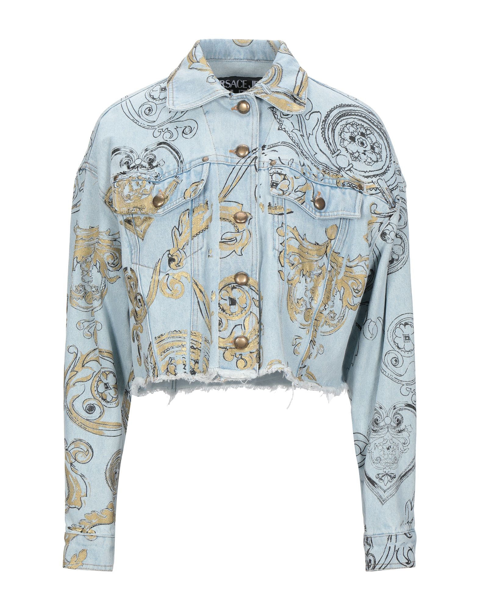 VERSACE JEANS COUTURE Denim outerwear - Item 42815601