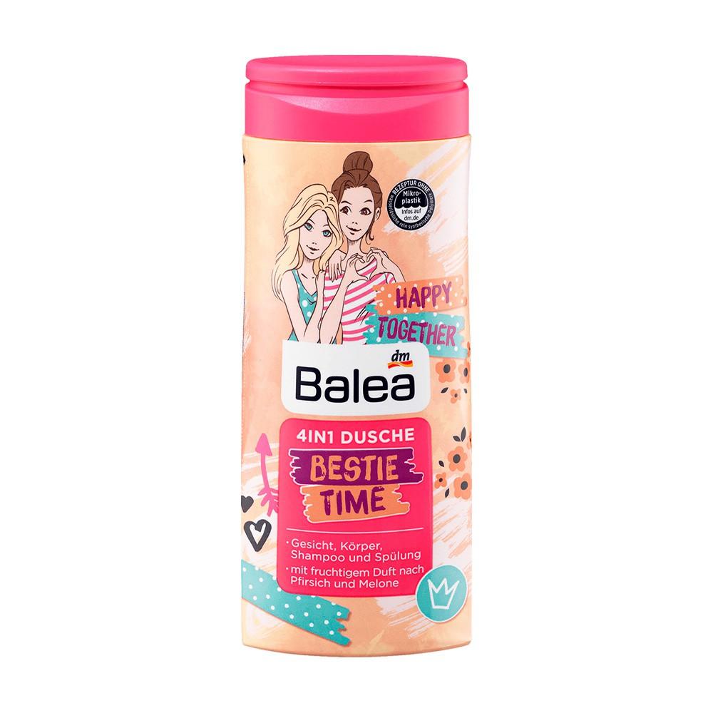 德國 Balea 芭樂雅 兒童果香四合一沐浴洗髮露 300ml / DM 藥妝 (DM7430)
