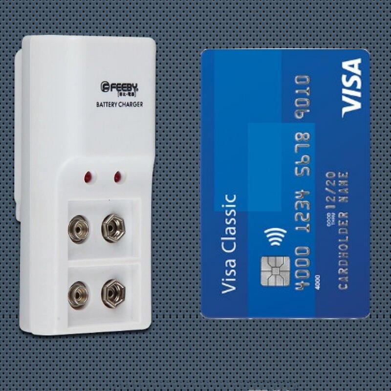 9V標準充電器雙槽FB-C40充電器 2槽 9V鎳氫電池 專用【GM370】  123便利屋