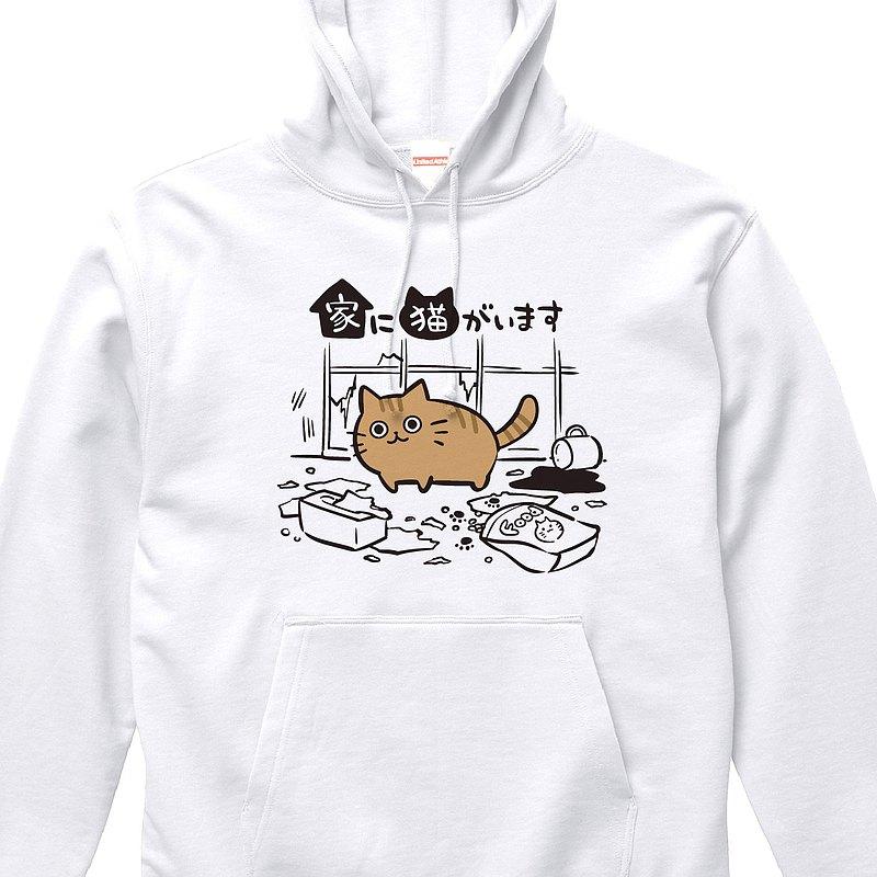 【我家裡有一隻貓】Chatra【白】ekot Parker 10 oz 插圖-Taka【笹川拉美子】