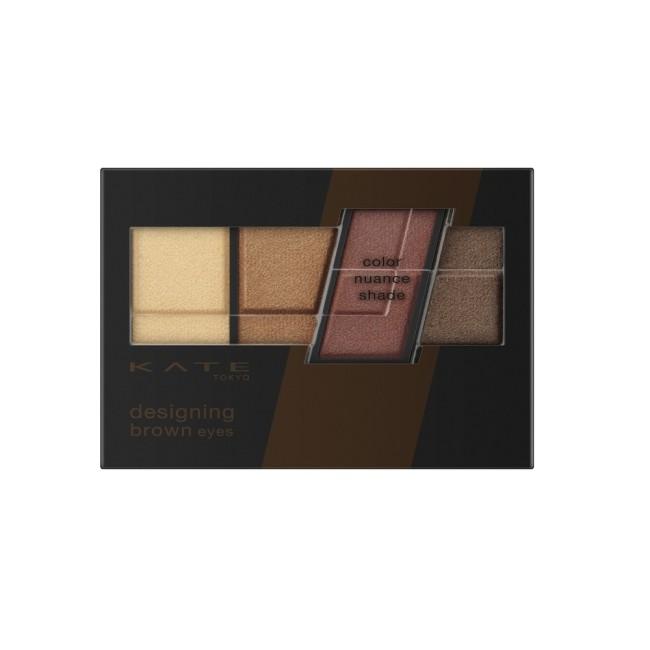 凱婷 色影迷棕眼影盒 BR-4 紅調棕 3.2g