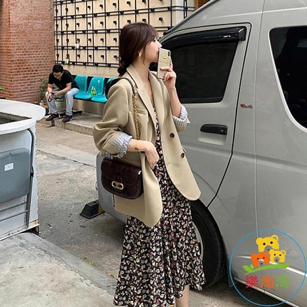西裝外套女韓版早春秋氣質套裝小西服上衣 樂淘淘